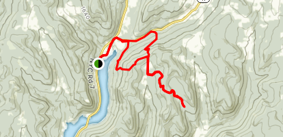 Finger Lakes Trail: Mormon Hollow to Fletcher Rd Map