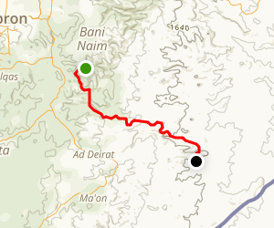 The Edge of the Desert Hike Map