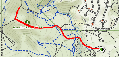 """Miners Trail to The """"N"""" Map"""