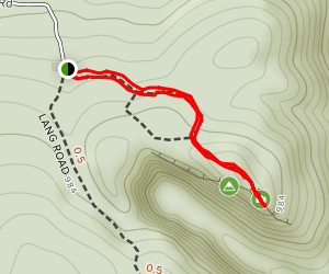 Big Hollow/Coot Hill Trail Map