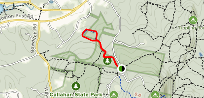Ford's Folly Trail Map