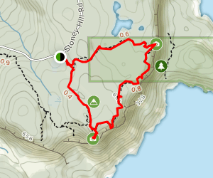 Stoney Hill Trail Loop Map