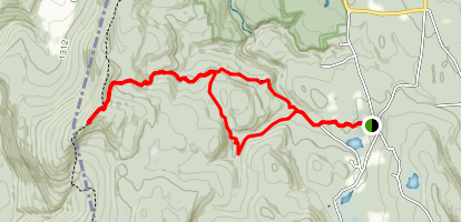 Mount Washington Alander Mountain Trail Map
