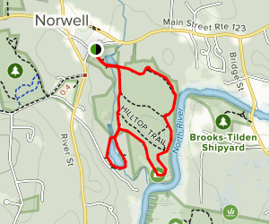 Norris Reservation Trail Map