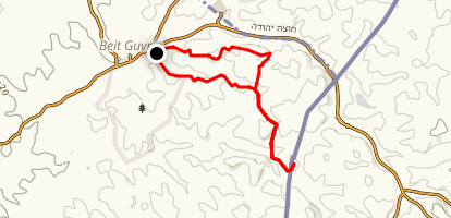 Bet Guvrin Loop Trail Map