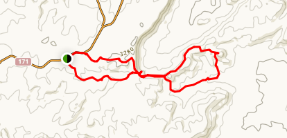 Har Ramon Loop Trail to Har Iddo Map