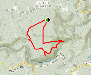 Laurel Lane, Country Road, Charcoal Kiln, and Pitcher Brook Loop Map