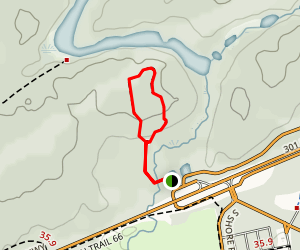 Falcon Creek Trail Map