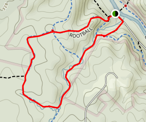 Upper Cascade Falls Loop Map