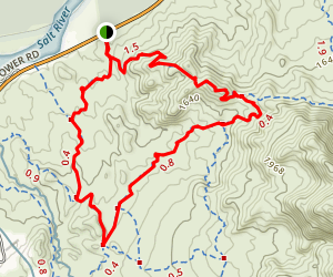 Saguaro, Ridge and Granite Trail Loop Map