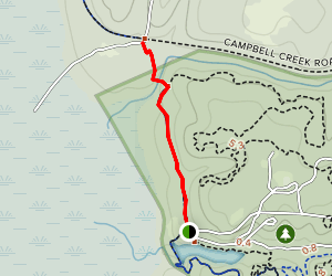 Palmetto Trail: Poinsett State Park to Campbell Pond Road Map