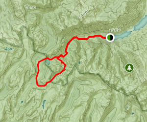 Crown Point Loop Map
