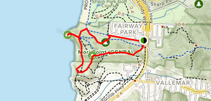 Old Mori Road to Timigtac Trail Loop Map