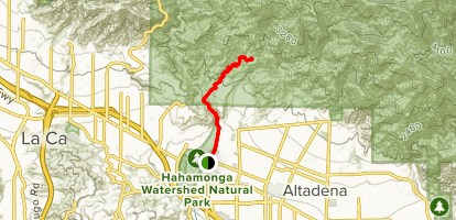 El Prieto Trail Map