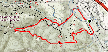 PG&E, Wilcat Loop, Lower Meadow Trail Map