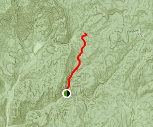 Dry Canyon Trail Map