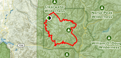 Wonderland Trail Loop Map