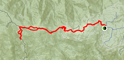 Condor Summit and Vincent Tumamait Trail Map