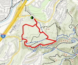 Forster Canyon and Patriot Trail Map