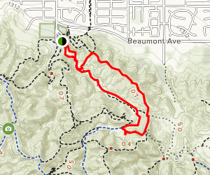 Scott Canyon Trail Map