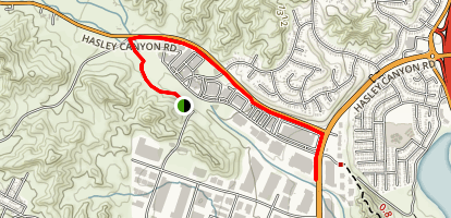 Hasley Canyon Trail Map