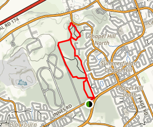 Forest Valley Loop Map