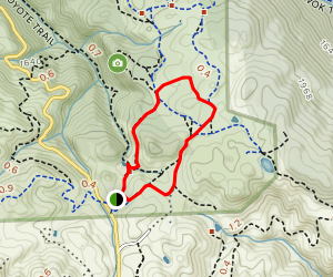 Volvon and Condor Trail Loop Map