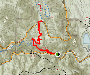 Columbine and Spring Creek Trail Map