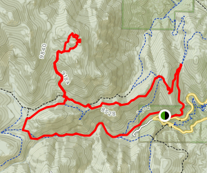 Tenny Crags Loop [CLOSED] Map