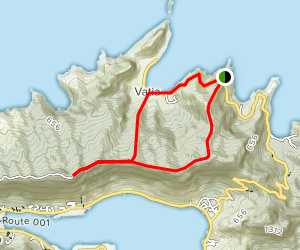 Mount Alava Trail Map