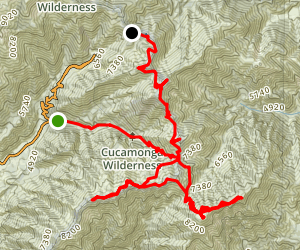 ECBO and 3 Ts to Baldy Notch Map