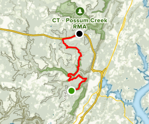 Cumberland Trail-North Soddy Creek Gorge Section Map