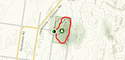 Black Hill Lower Track Map