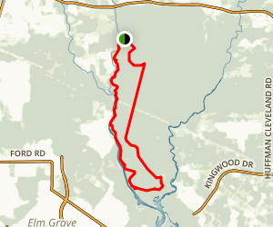 Ameri Trail Forest Loop Map