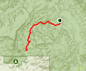 Cave Creek Trail Map