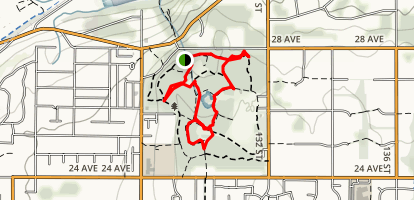 Crescent Park Loop Map