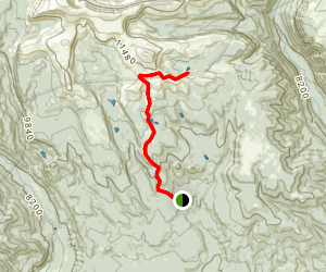 Bollie Lake Trail Map