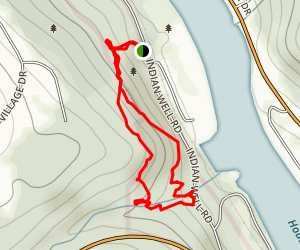Indian Well Trail Map