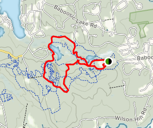 Grater Woods Millepede Loop Map