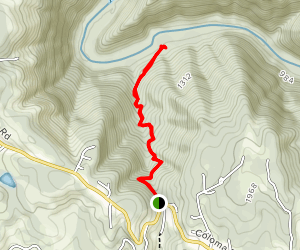 Red Shack Trail Map