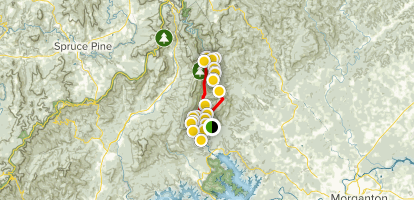 Linville Gorge Loop Map