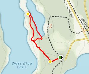 Shining Stone Trail Map