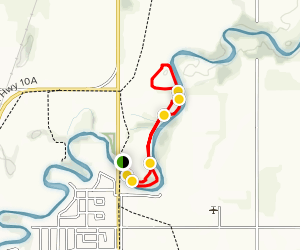 Swan Valley Museum Summer Trail [PRIVATE PROPERTY] Map