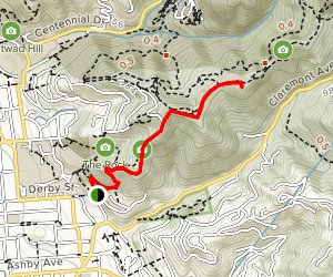 Stonewall Panoramic Trail to Viewpoint Map
