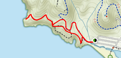 Coastal Trail to Viewpoint Loop Map