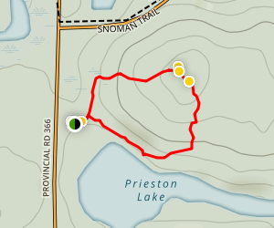 Copernicus Hill Loop  Map