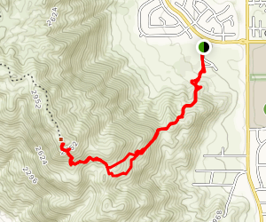 The M Hike Map