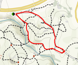 Sycamore Canyon Short Loop Trail Map