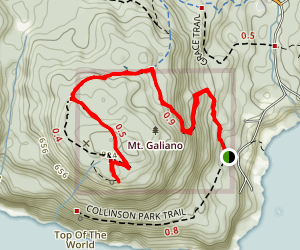 Mount Galiano Map