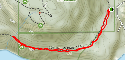 Collinson Point Map